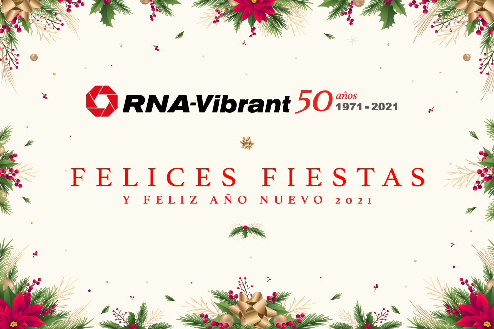 Felices Fiestas RNA-Vibrant